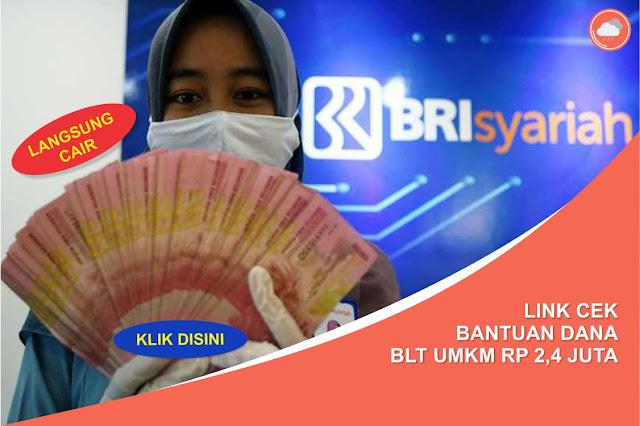 Link Cek Dana BLT UMKM Rp 2,4 Juta