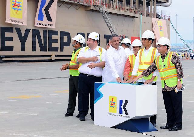 Infrastruktur dan Pembangkit Listrik Senilai 8T sudah Diresmikan Langsung Oleh Jokowi