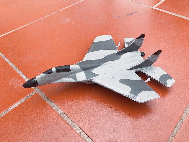 Máy bay điều khiển  từ xa phản lực mini MIG 29 Su27_2