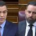 """Sánchez triunfa en el Congreso con su réplica a Abascal: """"abandone el odio"""""""