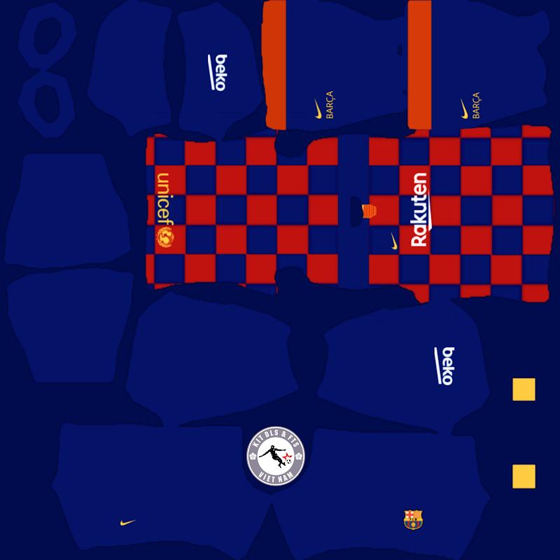 Kits FC Barcelona 2019 - 2020 Dream League Soccer 2021