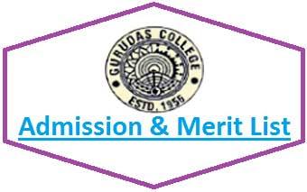 Gurudas College Merit List