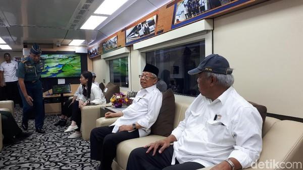 Permintaan Maaf Buntut Kereta Ma'ruf Amin Disoraki Penumpang KRL