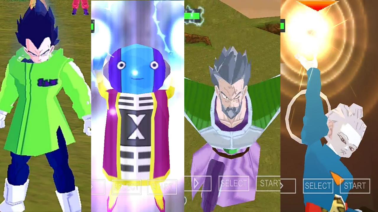 Dragon Ball Super Tenkaichi Tag Team Mod