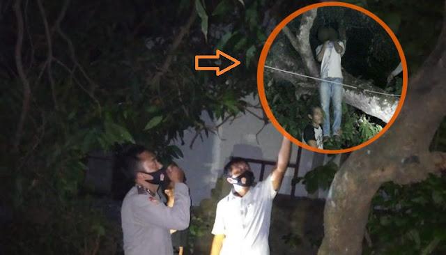 Usai Telepon Ibunya, Remaja Asal Gangga Lotim Gantung Diri di Pohon Mangga