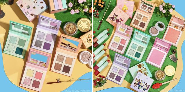 ColourPop X Animal Crossing Makeup Collection