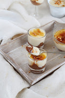 Nutella con crema Catalana - creme brulee