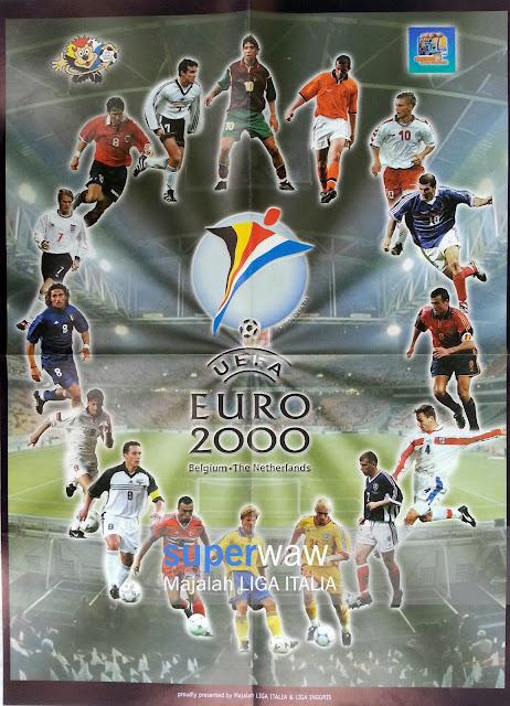 Big Poster UEFA EURO 2000 Belgium-The Netherlands