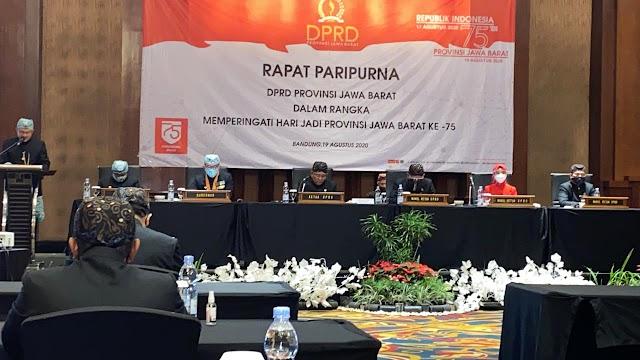 HUT Ke-75 Jabar, Ketua DPRD: Refleksi Bersama Menjadikan Jabar Masa Depan Indonesia
