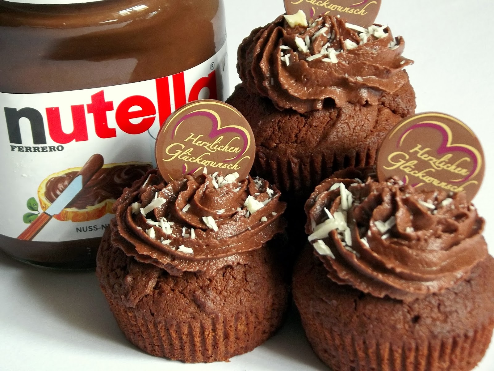 Backen Kann Jeder Nutella Muffins Rezept Cupcakes Mit Nutella