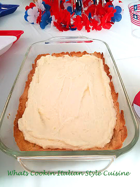 Sugar Free Flag Cheese Pie