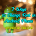 3 Ways to Change Font in Android Smartphone [FULL GUIDES]