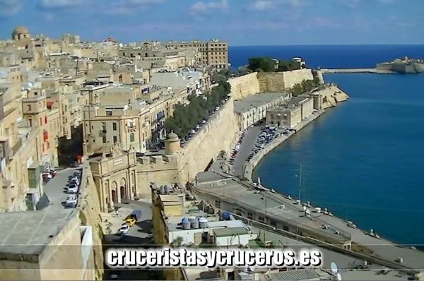 VÍDEOS - Costa Favolosa - Malta