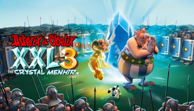 Asterix and Obelix XXL 3 The Crystal Menhir — the continuation of the amazing adventures of Asterix, Obelix and their friends