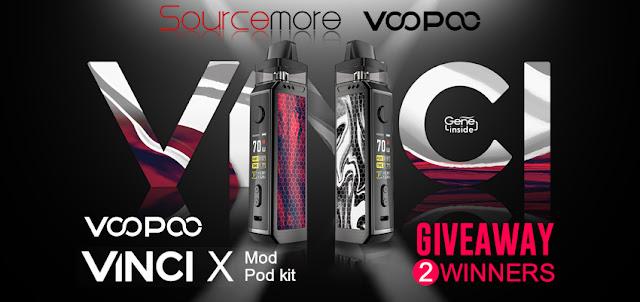 VOOPOO VINCI X Mod Pod Kit comes to you!
