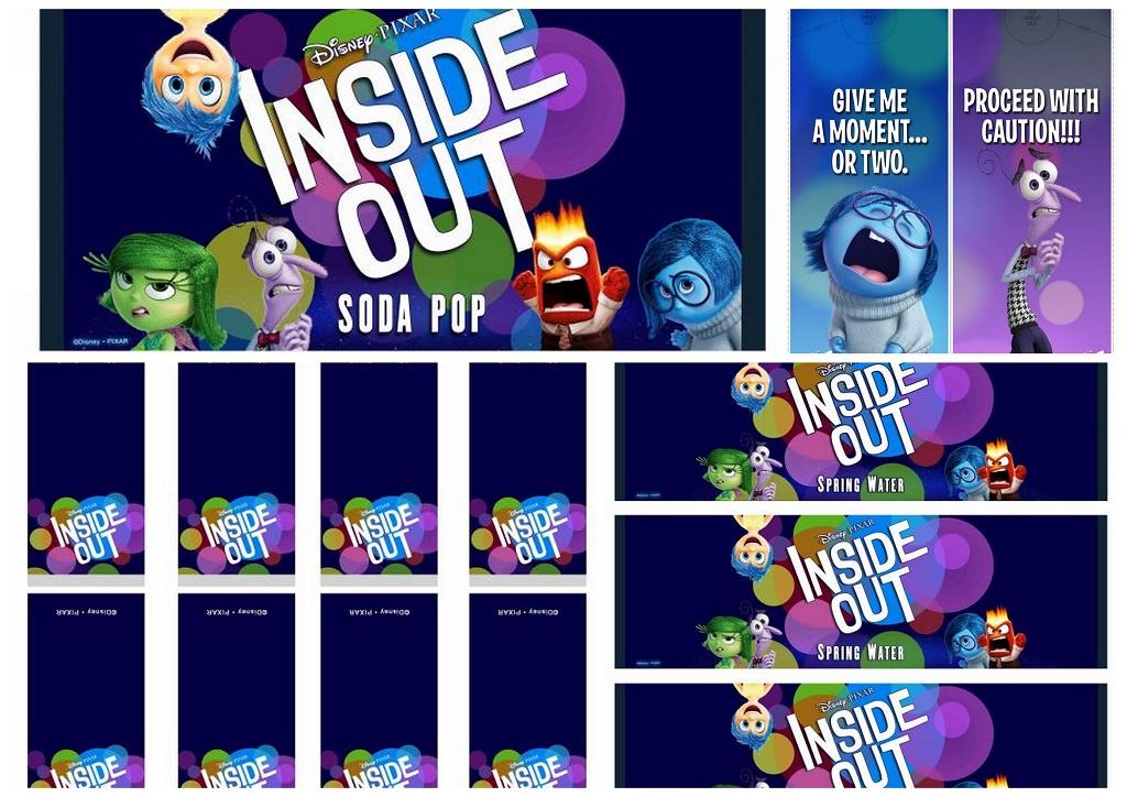 inside out free printable candy bar labels and door. Black Bedroom Furniture Sets. Home Design Ideas