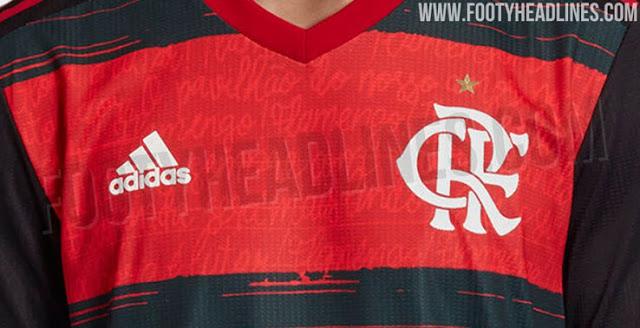 Site divulga fotos da possível nova camisa principal do Flamengo