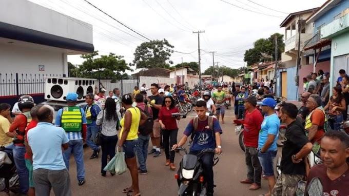 Manifestantes ocupam sede da Celpa em Tucuruí, no sudoeste do Pará
