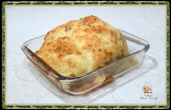 Couve-flor gratinada com creme de queijos 2