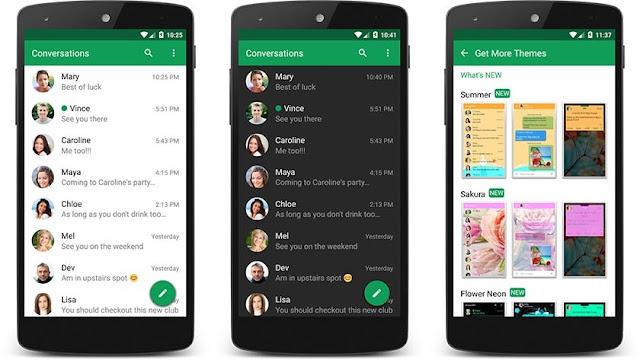 Las 10 mejores aplicaciones de mensajes de texto para Android