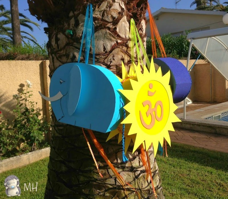 Piñatas para fiesta Bollywood