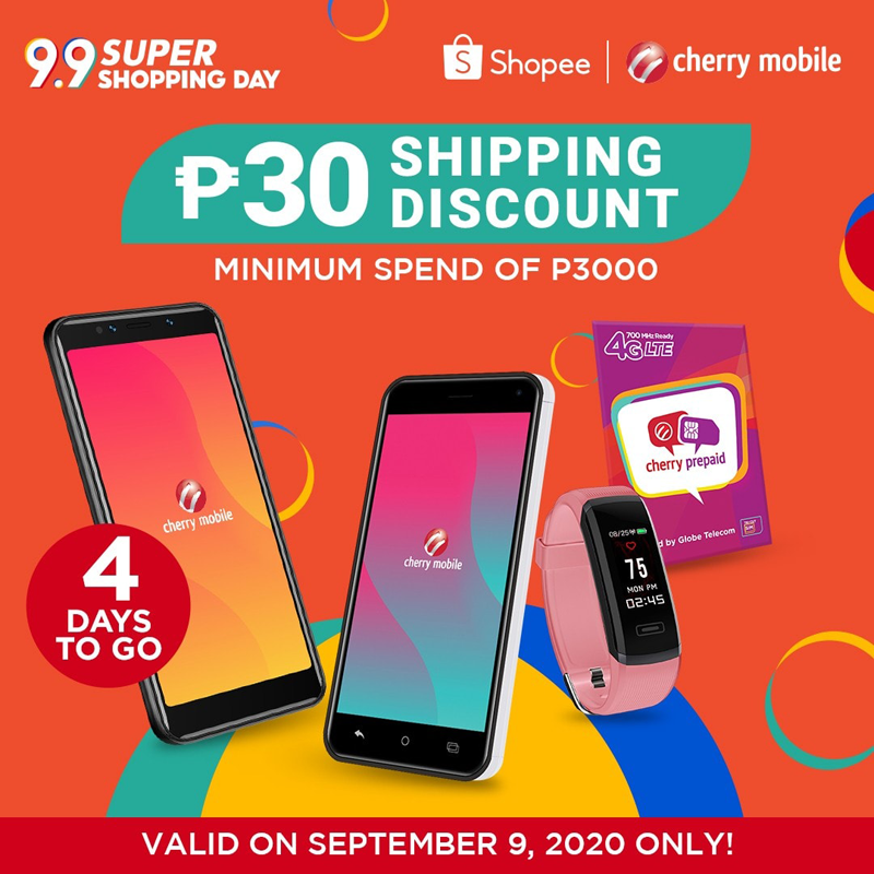 Cherry joins Shopee and Lazada 9.9 sales