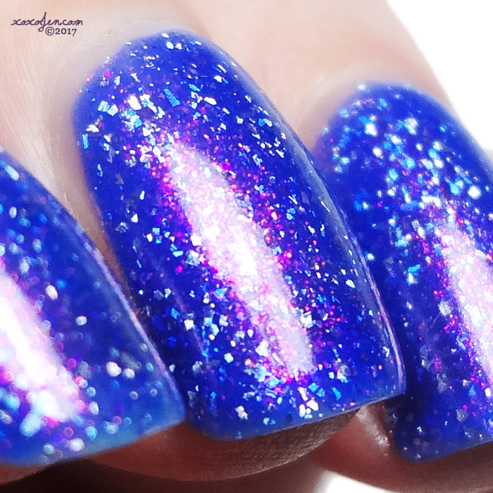 xoxoJen's swatch of Glitterdaze Twisted Twilight