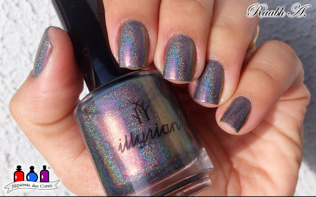 ILNP After Midnight, ILNP Fall 2015 Collection, Teal, Multichorme, Holo, Illyrian Polish, Havoc, Nails, Unhas holográficas,