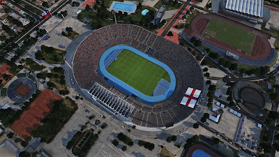 PES 2020 Stadium Aerial View Emirates & Nacional de Chile by Jostike Games