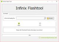 تحميل برنامج Infinix Flash Tool - جميع الاصدارات