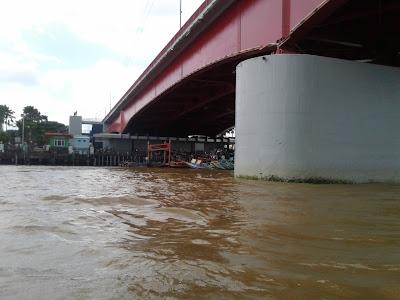 lokasi bawah jembatan ampera palembang