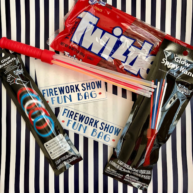 Fourth of July- Firework Show Fun Bags