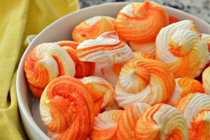 ORANGE MERINGUE COOKIES