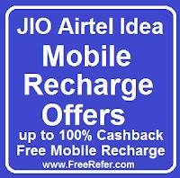jio airtel idea mobile recharge