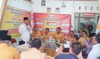 Partai Hanura Gelar Konvensi Cawako-Cawawako Solok