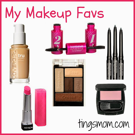Ting's Mom: My Makeup Favorites {Summer 2014}