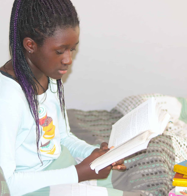 Reading just 30 minutes a day does wonders for your children.