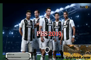 PES Mobile 2018 V2.3.3 Mod New Menu Juventus