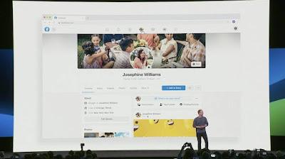 إطلاق الواجهة الجديدة لموقع فيسبوك مع خاصية الوضع المظلم