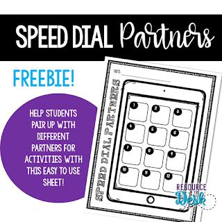 https://www.teacherspayteachers.com/Product/Partner-Match-Cooperative-Learning-Speed-Dial-Match-Freebie-3942186