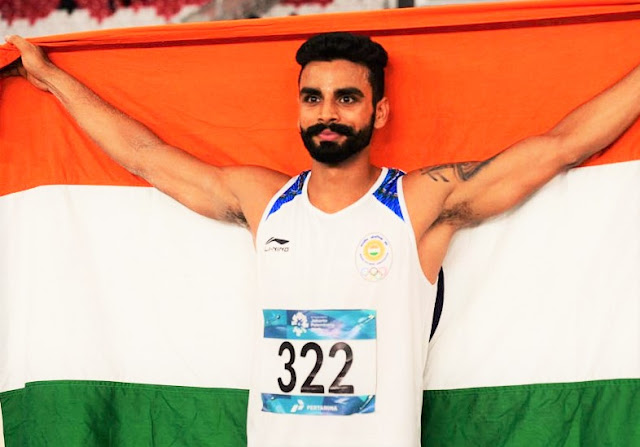 Indian boy Arpinder win gold