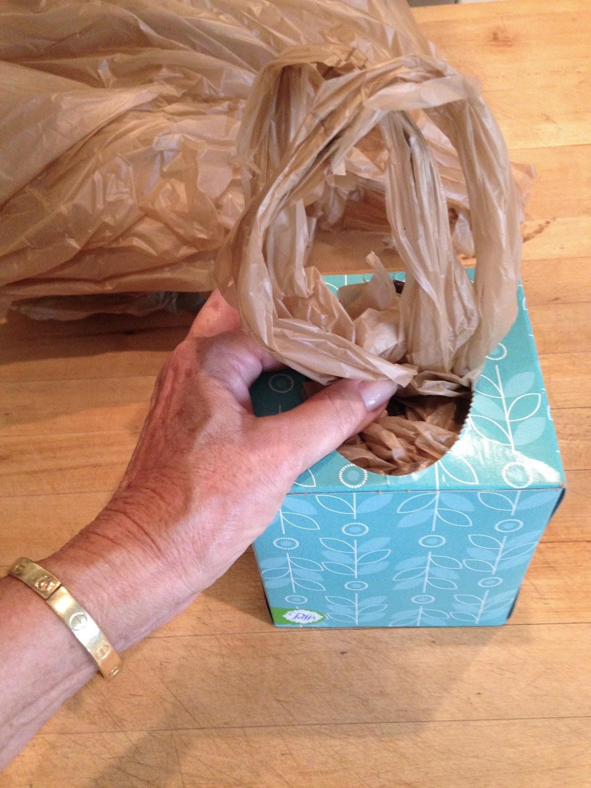 May days diy plastic bag dispenser for Diy plastic
