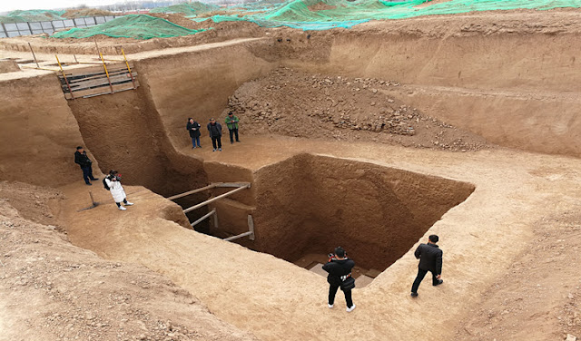 1,300-year-old royal tomb discovered in NW China