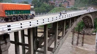 मुग्लिनकाे नेपालकै पहिलो 'आर्क ब्रिज' सञ्चालनमा आयो