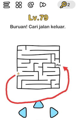 Brain Out Level 79 - [ MUDAH ] Inilah Kunci Jawaban Brain Out Level 41 - 80 Terlengkap