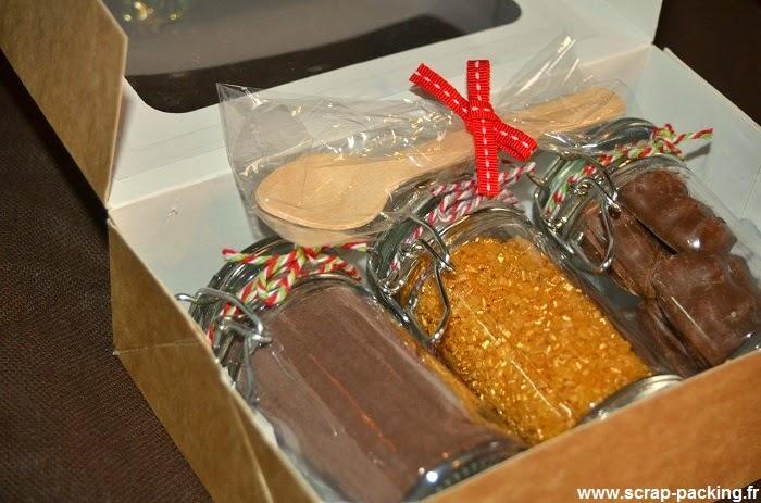 scrappacking u2122  id u00e9e cadeau gourmand no u00ebl  3    chocolat