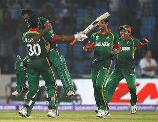 Bangladesh vs England 28th Match ICC Cricket World Cup 2011 Highlights