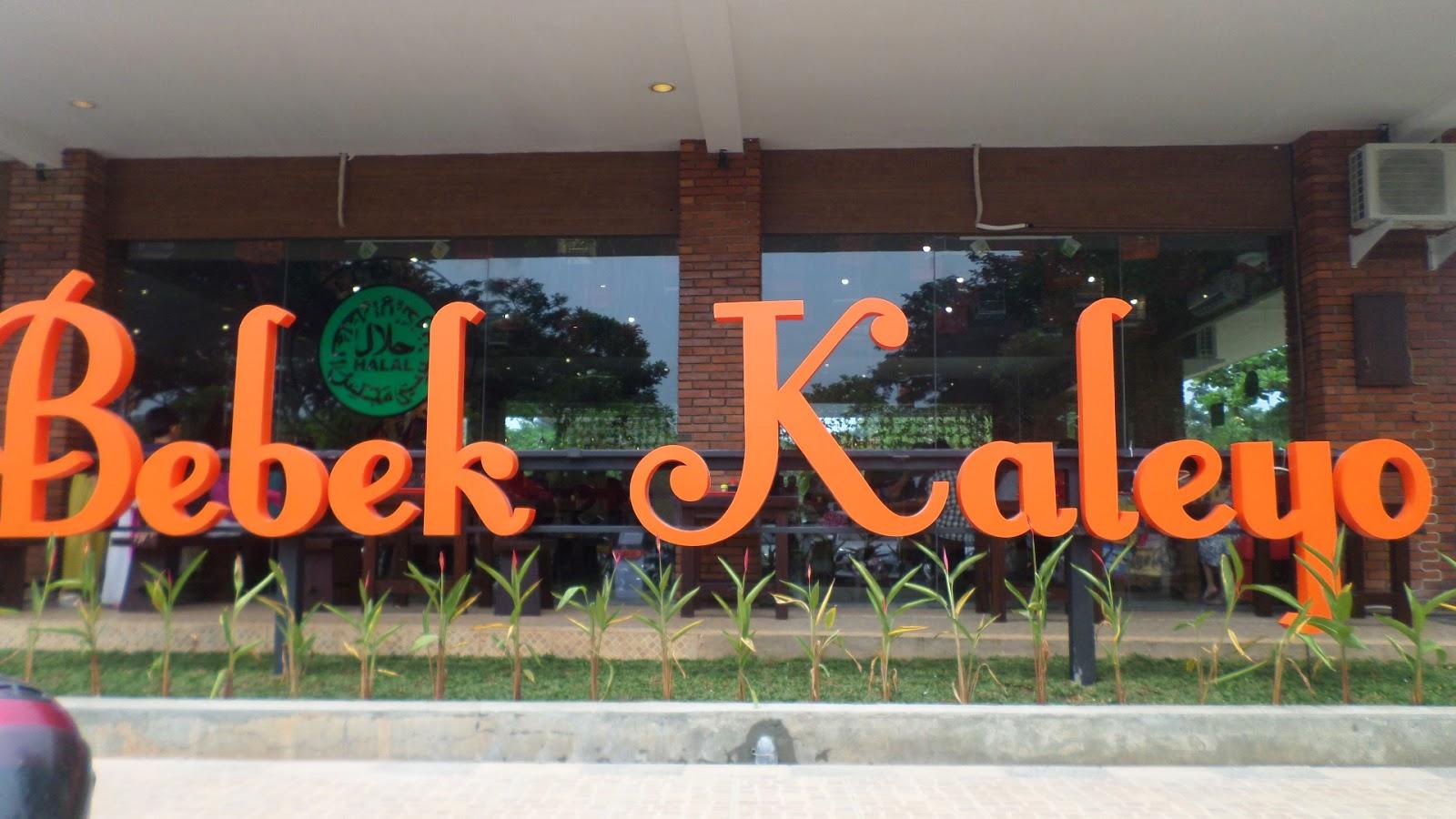 Menjelajah Wisata Kuliner Di Bebek Kaleyo Grand Wisata