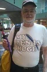 My Pen is Huge funny t-shirt.  PYGear.com