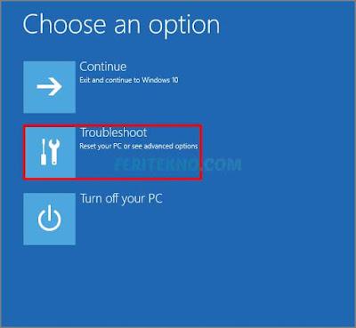 Cara masuk ke safe mode pada windows 10 6